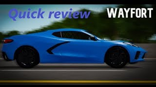 Wayfort Quick Review [ROBLOX]