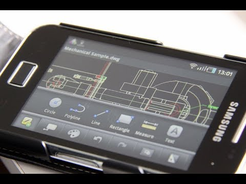 Autocad DWG CAD VIEWER For Android