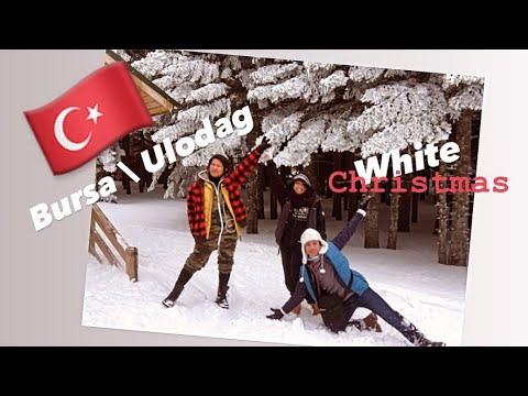 Bursa, Turkey Snow Fight