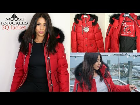 Moose Knuckles 3Q Ladies Jacket Unboxing/Try On | Canadian Winter Coat | Arzan Blogs
