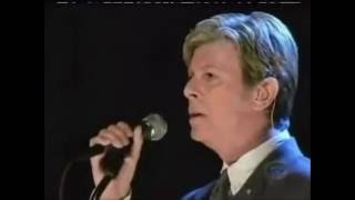 David Bowie's last performance ever,