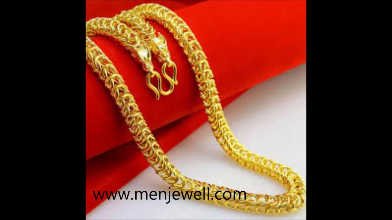 Latest jewellery design mens Gold Chain for men by menjewell.com ...