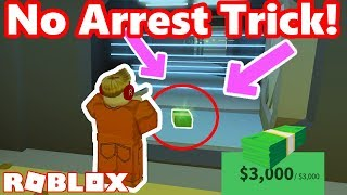 CRAZY NO VAULT ARREST TRICK!! - Roblox Jailbreak Myth busting #6