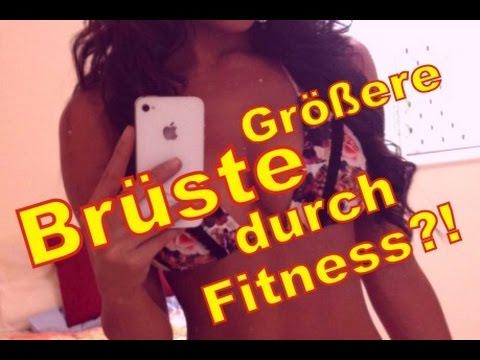 Größere Brüste durch Fitness: Der Trick! | Ladeefid Frauen-Fitness
