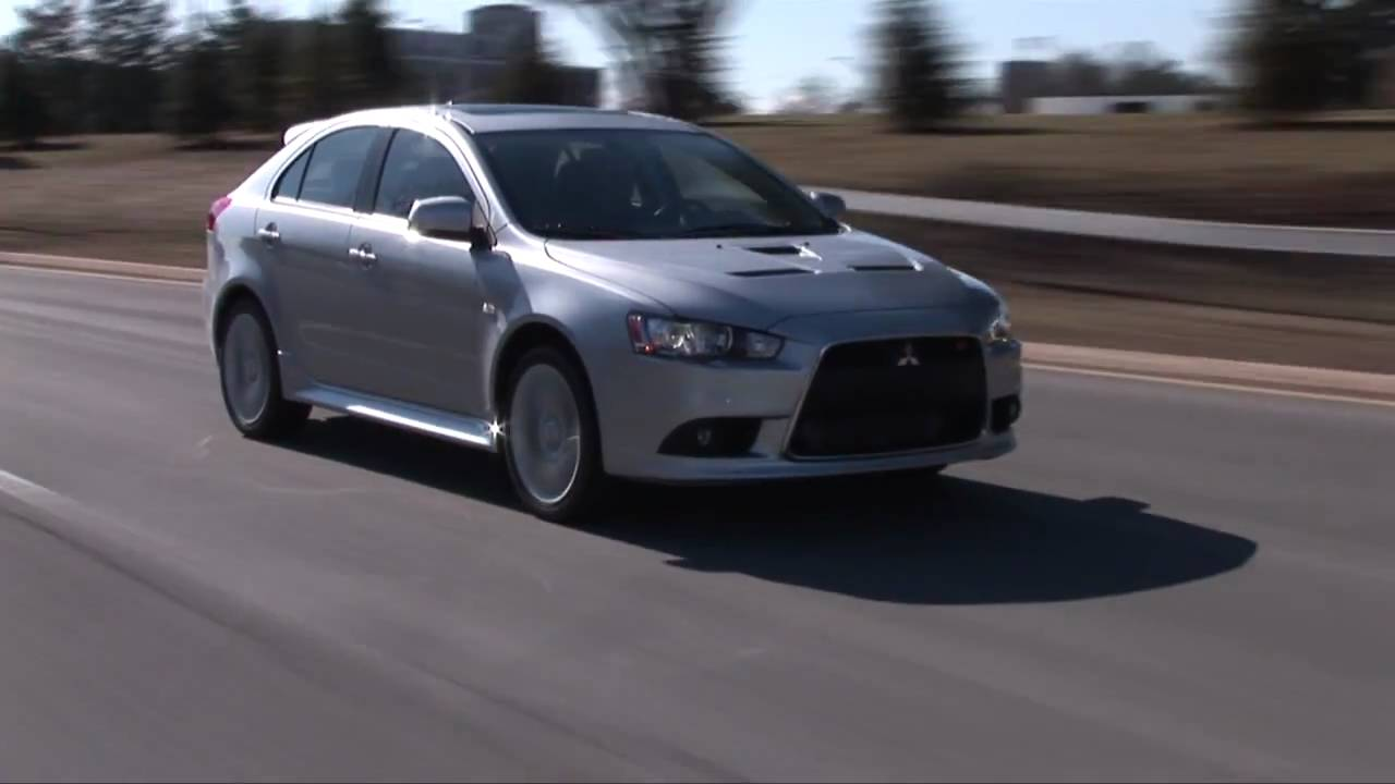 2011 mitsubishi lancer sportback ralliart drive time review youtube
