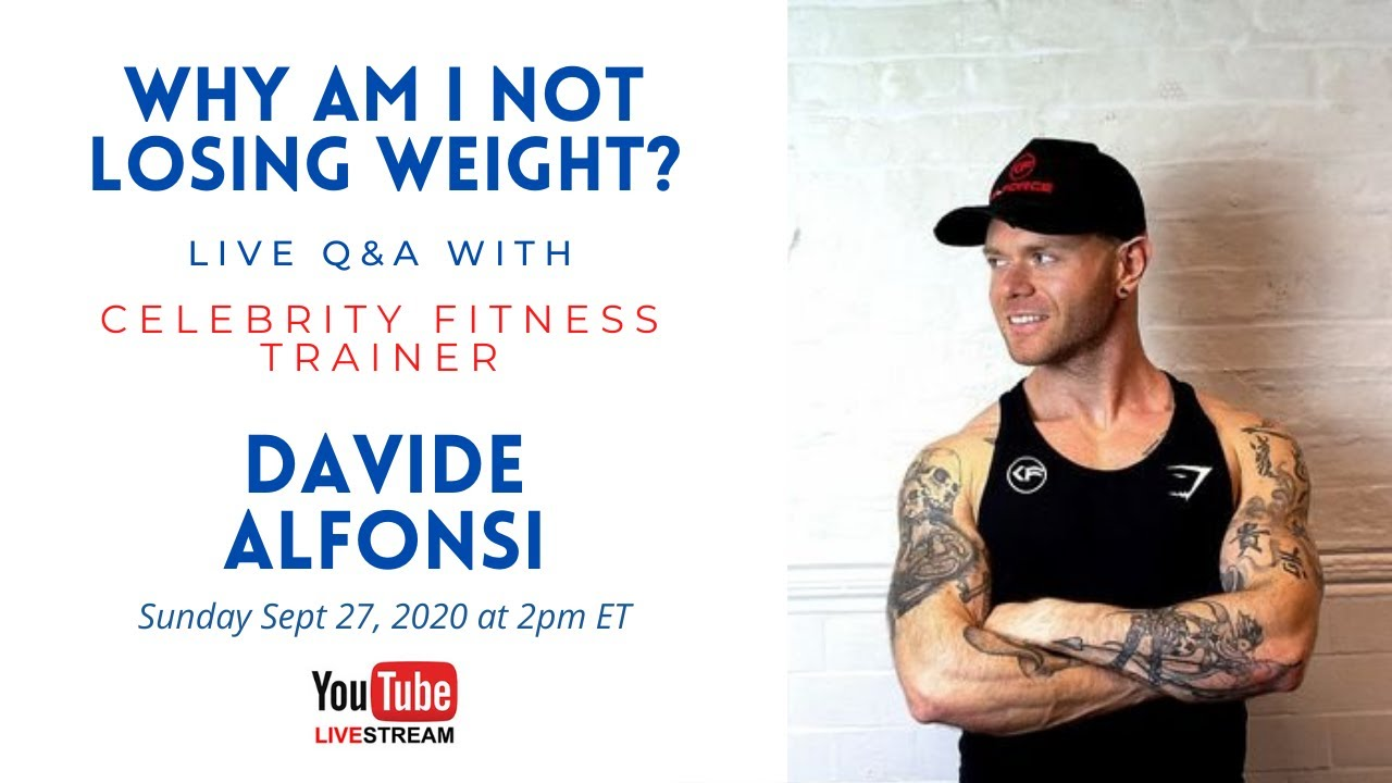 Why Am I Not Losing Weight? A Live Q&A with Davide Alfonsi
