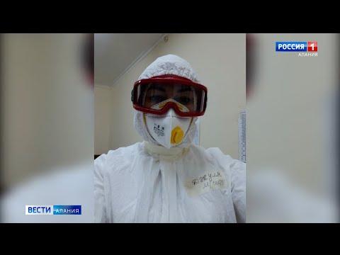 На передовой: медсестра из селения Комсомольское с приходом коронавируса сменила работу в ЦРБ на «гр