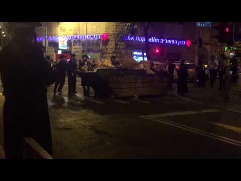 Kikar Shabbos protest1 (Media Resource Group)