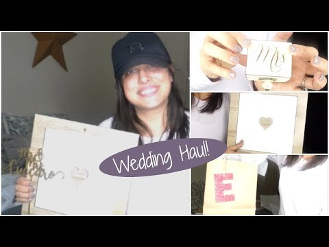 Wedding Haul! | Decor | Bridal Party Gifts & More!