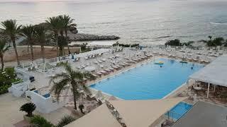 Кипр Отель Queens Bay На закате
