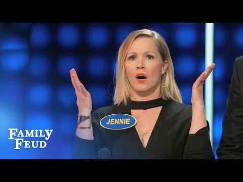 Lola surprises Steve (and her dad)   Celebrity Family Feud