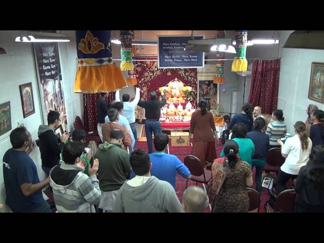 ISKCON Scarborough - Ecstatic kirtan -HG Sankarshan das Adhikari Travel Video