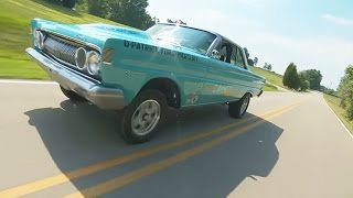 1964 Mercury Comet Cyclone Lightweight Drag Car