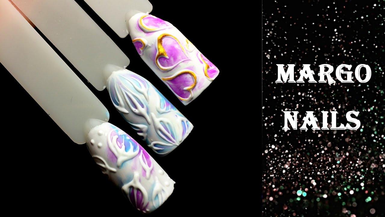 Дизайн ногтей с гель пастой
