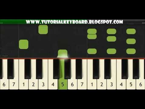 TUTORIAL! RITEM PIANO DANGDUT