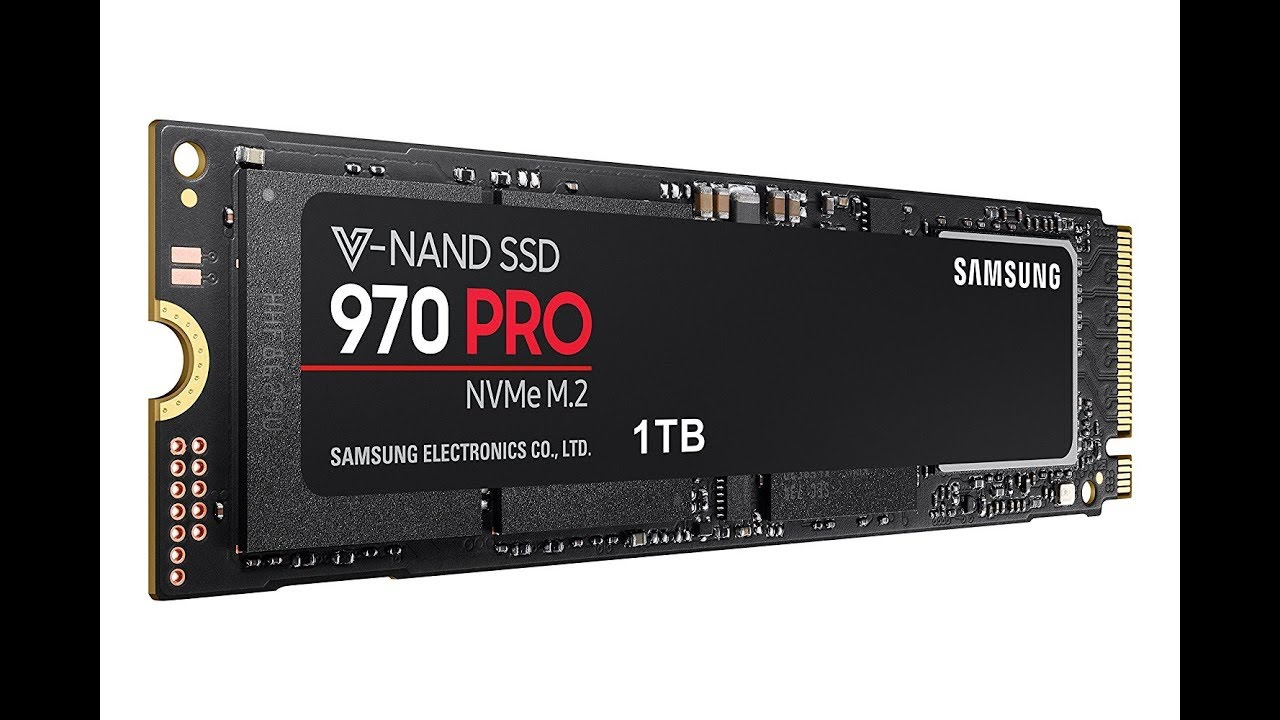 Samsung 970 PRO SSD m2 Benchmark Tests