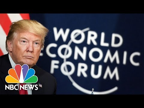 President Donald Trump Addresses The World Economic Forum | NBC News