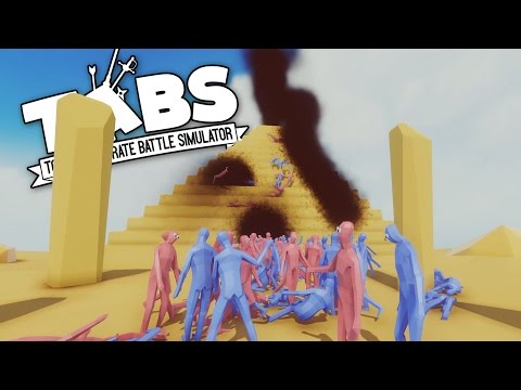 TABS - Secret Pyramid Plague! - Totally Accurate Battle Simulator Neon Gameplay