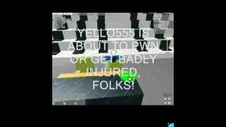 roblox smackdown blooper (not funny, i kno)