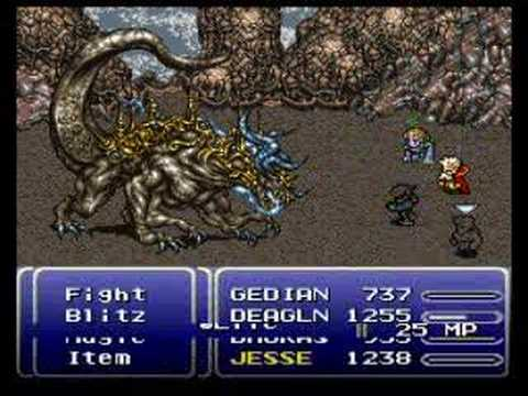 FF6 Boss Series 20 ATMA WEAPON YouTube