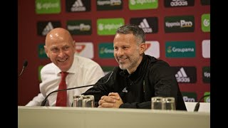 HUNGARY V WALES | MD-1 PRESS CONFERENCE | RYAN GIGGS
