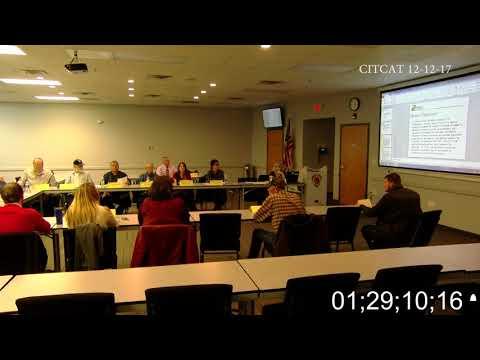 Camdenton Industrial TCE Contamination Advisory Team Meeting 1