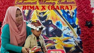 BIMA X BARA ULANG TAHUN | HADIAHNYA TOBOT X!!!