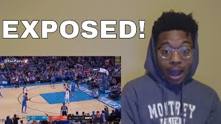 DURANT AND WESTBROOK FIGHT Golden State Warriors Vs OKC Thunder Full Game Highlights REACTION