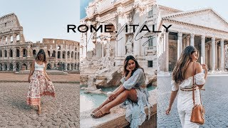 Travel with me Vlog: ROME, ITALY! Tips & photo spots