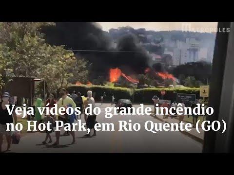Download Veja vídeos do grande incêndio no Hot Park, em Rio Quente GO