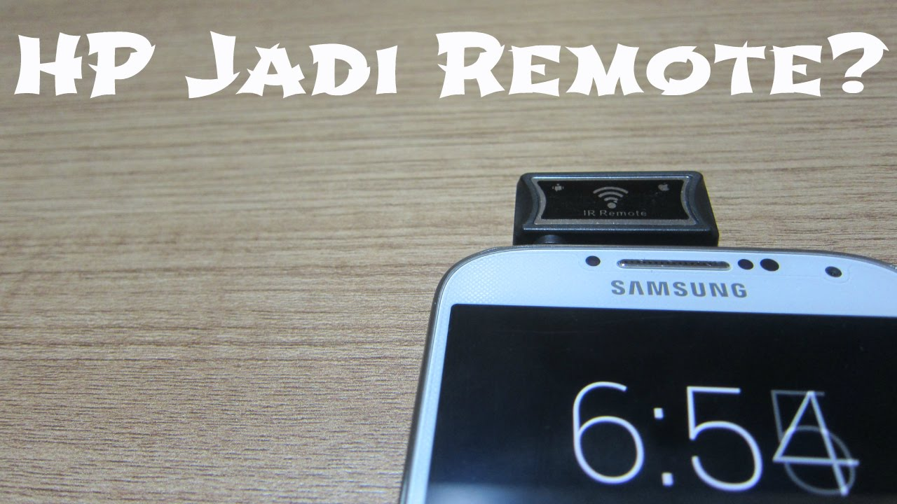 hp jadi remote wireless infrared blaster unboxing indonesia youtube