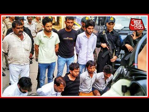 UP ATS Nabs 10 Naxalites From Noida, Press Conference Held By IG, ATS