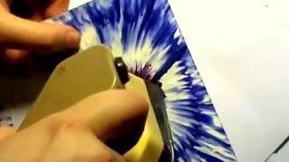 Хобби. Чудесный цветок. Энкаустика (Encaustic - Magic Flower).