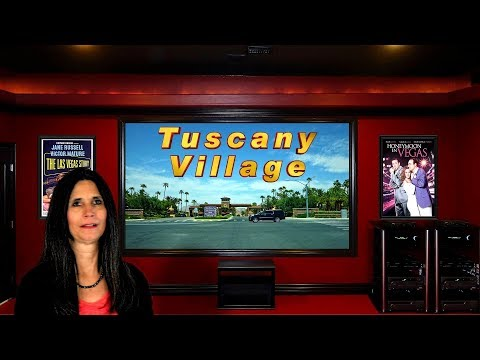 Las Vegas New Homes - Tuscany Village Golf Community Tour