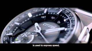 CITIZEN Eco-Drive SATELLITE WAVE F100 Untold Story