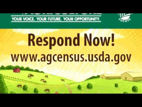 Complete your 2017 Census of Agriculture
