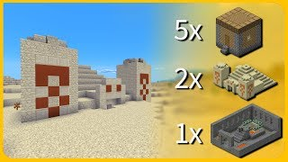 Minecraft PE Seeds - CRAZY SEED! Stronghold + 5 Villages + 2 Desert Temples - MCPE 1.1 / 1.2