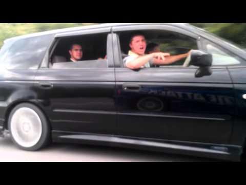 Subaru WRX STi vs Honda Odyssey овощЬ!