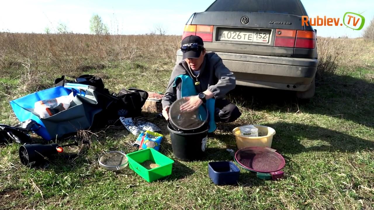 приготовление прикормки для плотвы