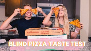 BLIND PIZZA TASTE TEST | Which Delivery Pizza is the Best?