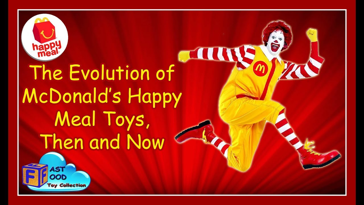 The Evolution Of Mcdonald S Happy Meal Toys Then And Now