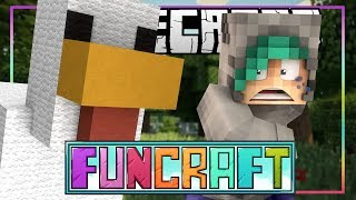 ATTACKED BY CHICKENS?! - Minecraft FunCraft SMP - Ep.1