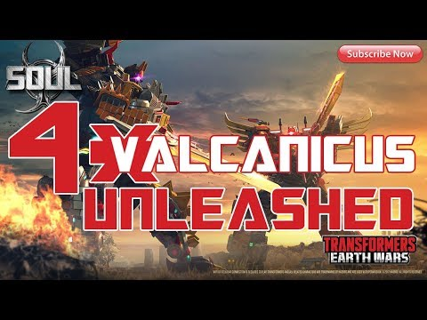 Transformers: Earth Wars - 4* Volcanicus Unlocked!