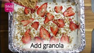 Yoghurt Bark - Baby Led Weaning Recipes