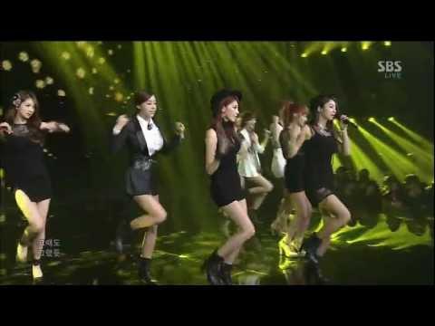 [HD] 130217 Nine Muses - Dolls @ Inkigayo