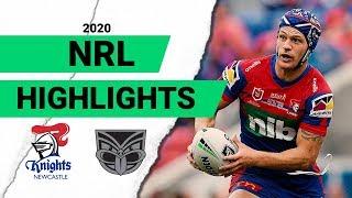 Knights v Warriors Match Highlights | Round 1 NRL 2020