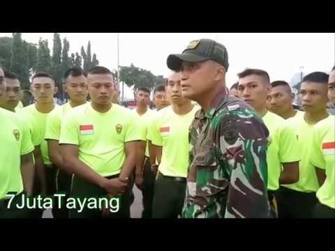 Pelatih TNI Marah & Memberikan Motivasi Terhadap Juniornya