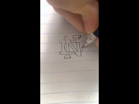 how-to-draw-the-notre-dame-logo