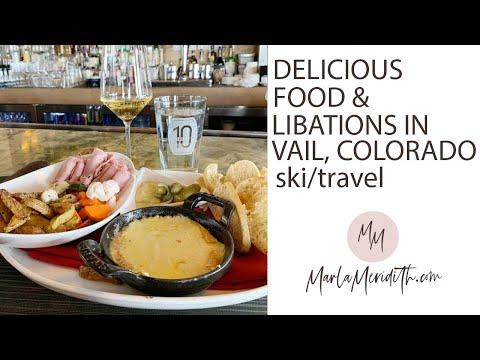 Delicious Food & Libations In Vail, Colorado