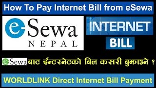 [Nepali] How To Pay Internet Bill from eSewa ? Easy Payment To Wlink From eSewa Account, Must Watch